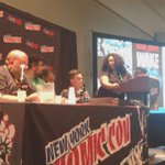 """""""Comics was a way of finding the light (during depression)."""" @Ssnyder1835 #BGNNYCC #NYCC2015 http://t.co/lcCr6ruu97"""