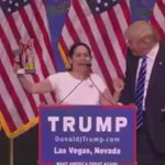 Trump had to have paid her or given her a lifetime supply of Goya products for this to have happened http://t.co/IvC9C6orCu