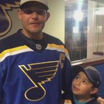 After dropping the puck, @Yadimolina04 had a message for #stlblues fans. http://t.co/MmdzHz1qwm