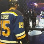 #Blues Tweets: First NHL game, GWG, ⭐️⭐️. Welcome to the league, Robby Fabbri. http://t.co/xr1V18tw5M http://t.co/xuYszLuouK