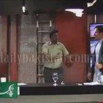 #PTI & #PML-N leaders started kick boxing during live TV Show Shaukat Yousafzai PTI & Mohsin Shah Nawaz Ranja PML-N http://t.co/dlYapOIVxZ