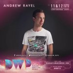 Let us all welcome @ANDREW_RAYEL to the #DWP15 lineup! there's no stopping him frm bringing the best party this Dec! http://t.co/XtJB9clnW9