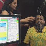 Madness happening in @redfmpune studio as @Its_Badshah is performing in #Pune tomo. @rjjyotika @RedFMIndia http://t.co/eIwtABH3D9