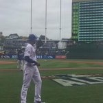 Getting close to first pitch and #TheK is already LOUD! #TakeTheCrown http://t.co/kTIjnYIQp4