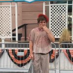 Just dont bother him...#HHN25 http://t.co/rcZ9rFPhlp