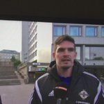 Has Kyle Lafferty really just said hed like to play against Argentina or Brazil in the euros? http://t.co/8cmiCZrrS6