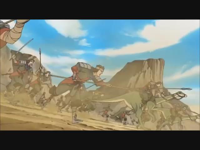 うたわれるもの(OLM TEAM IWASA)「夢想歌」(作詞:須谷尚子/作曲:衣笠道雄/歌:Suara)