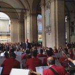 La magia di Duke Ellington sotto i Portici del Grano di #Parma. http://t.co/X3UfXXKq4G