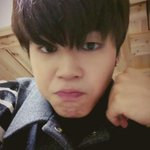 Jimin sending you a cute video message. http://t.co/JQ1Lk7YH0J