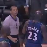 The ref changed the call because MJ told him to 🐐 https://t.co/FzsLqrW7bd