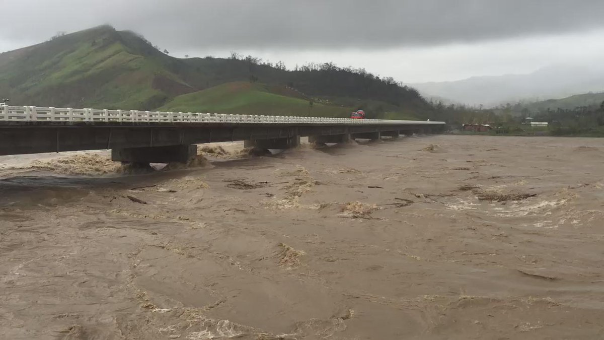 Raging river south of Madella after typhoon #LandoPH #Koppu http://t.co/lGfUWKYfIp