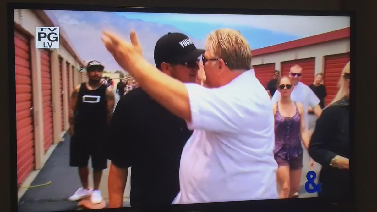 I might be late on this but it went down on storage wars!