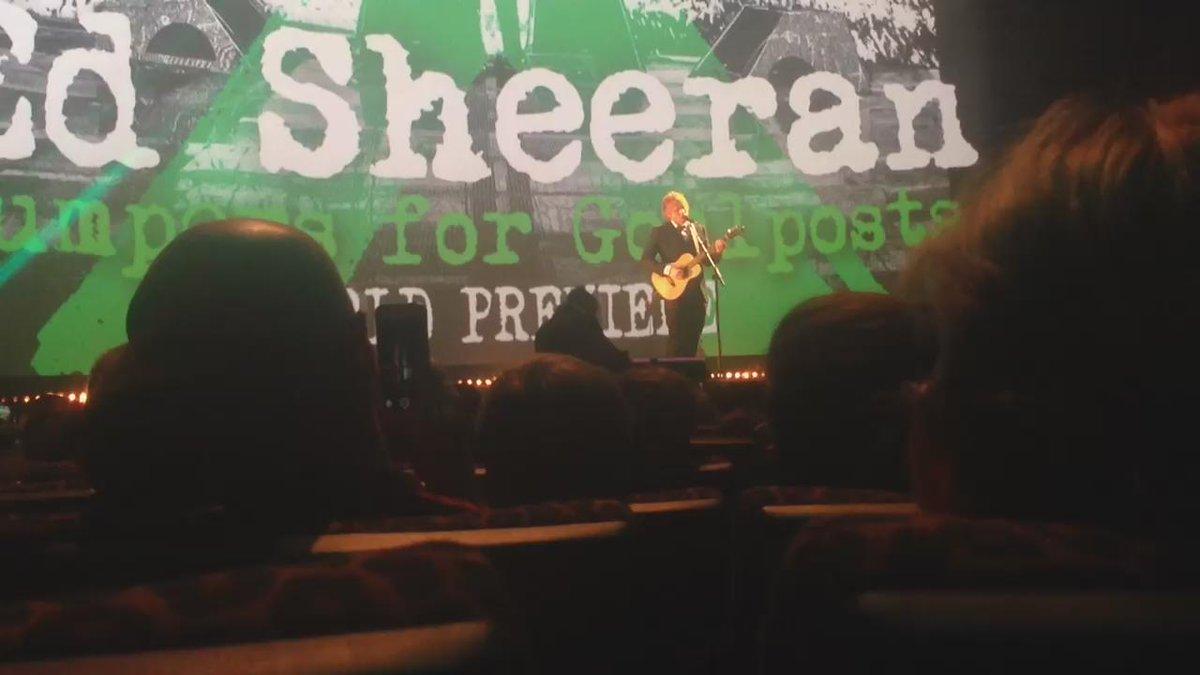 that guy Ed Sheeran isn't too shabby https://t.co/Bro1xeMBUf