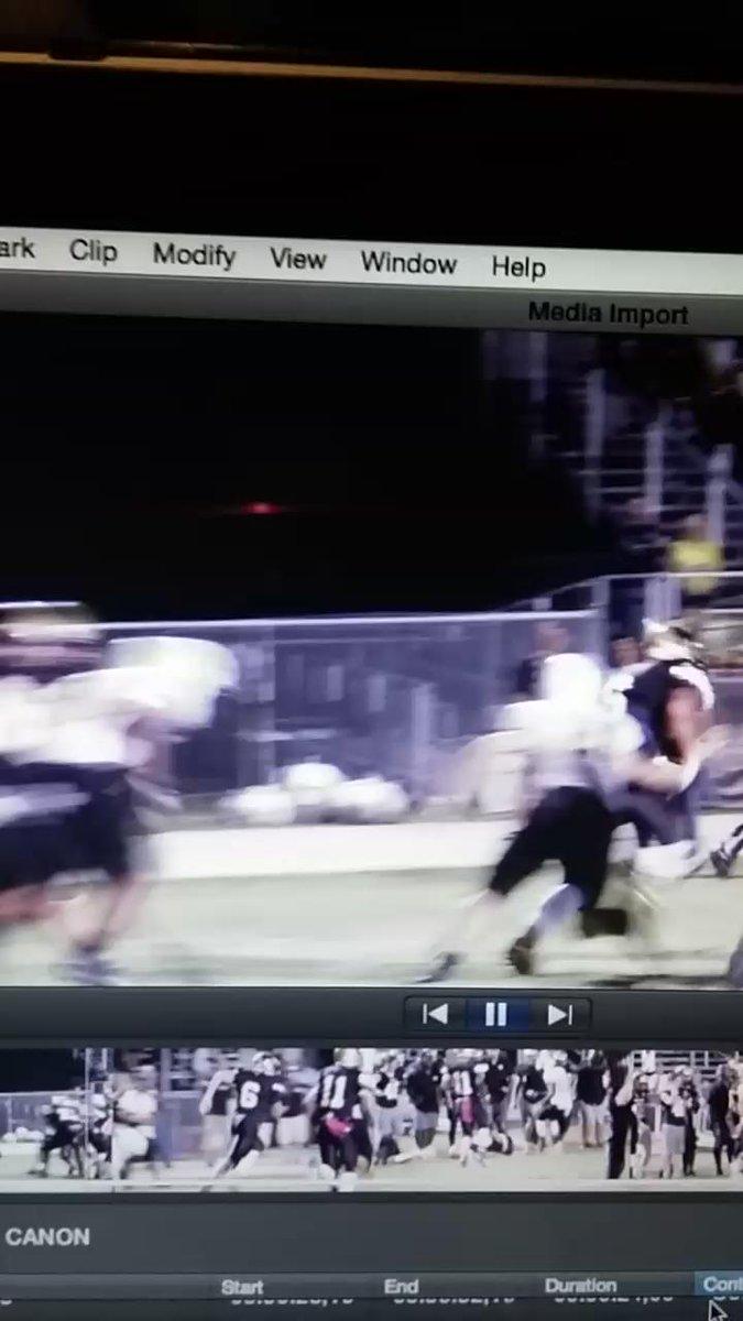 Mitchell QB Larry Dalla Betta not do that again or he's gonna get hurt. https://t.co/AsT8csTmpn