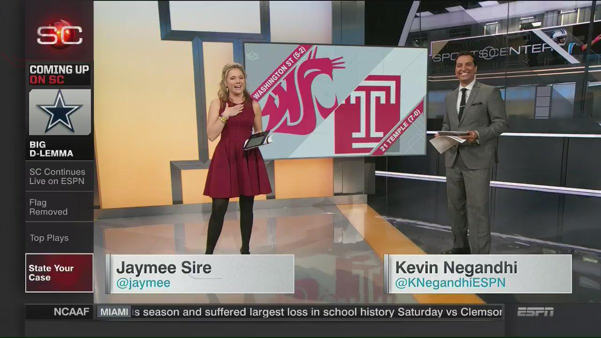 When you and @KNegandhiESPN disagree on where @CollegeGameDay should be. #gocougs #bringgamedaytopullman @leefitting https://t.co/n4rg2IHJTd