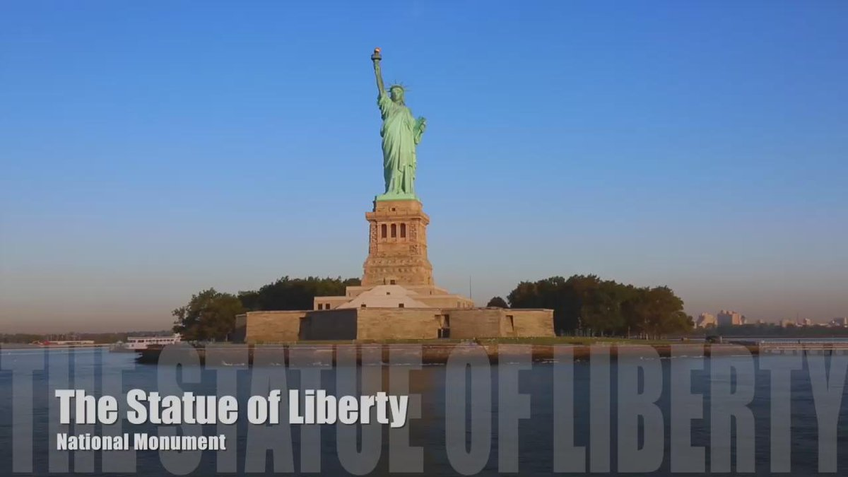 Guess who's 129 today? #HappyBirthday #LadyLiberty! And she doesn't look a day over 100!