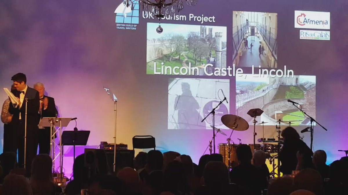 #BGTWawards winner of Best UK Tourism Project is Lincoln Castle https://t.co/dCdii44Mwn
