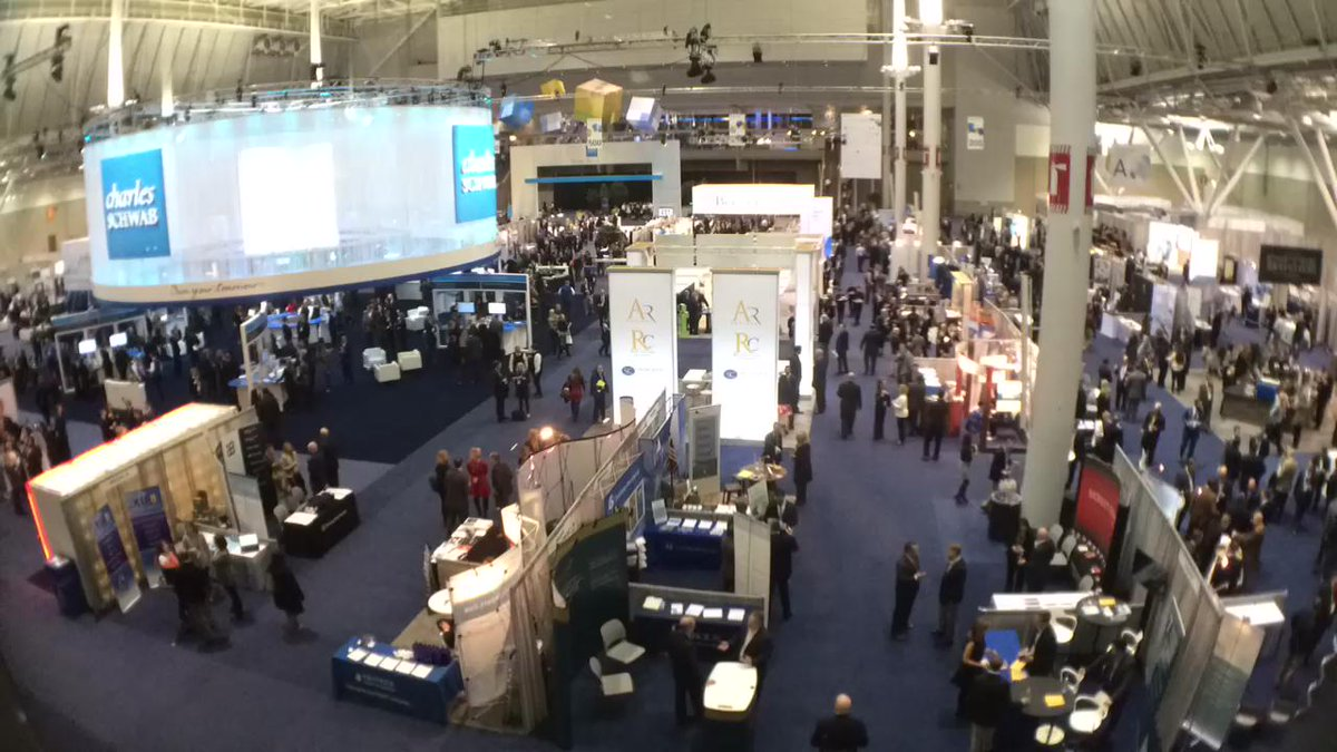 A quick look at the energy in The Exchange at #SchwabIMPACT https://t.co/fokMZ75Gnw
