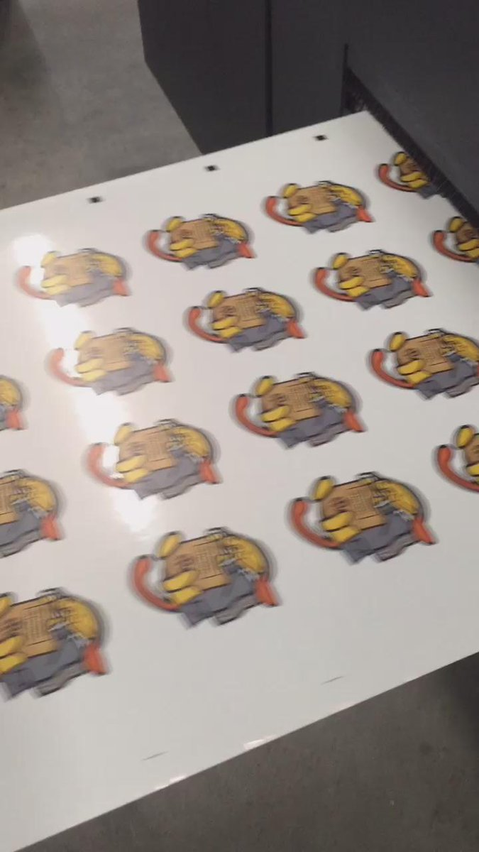 Printing up custom #wapuu stickers for @WordCampUS Who's going?! #WordCamp https://t.co/hxJrOOkmzs