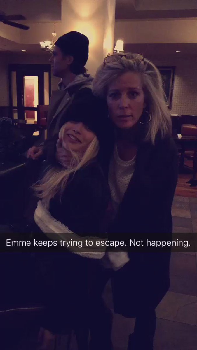 Forcing Emme to party... @EmmeRylan @lldubs https://t.co/XCjTDG7vz0