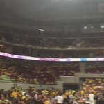 UST crowd starts the war at the sidelines! https://t.co/BPOki5K9D9