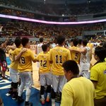 The UST Growling Tigers are all set for Game 1! Brought to you by @McDo_PH #McDoBonfriesUST https://t.co/yfBjyMtNee