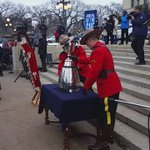 The #GreyCup officially welcomed to Winnipeg! #CFL https://t.co/1r0VocZQwZ