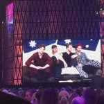 OMG. No big deal, just @5SOS in their pyjamas. #ARIAs ???????????????? https://t.co/4fgTKgbTnj