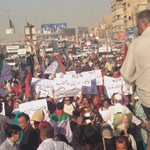 1000s already gathered only in Liaquatabad #Karachi #RallyAgainstInjustices #Pakistan https://t.co/DDvCi3XK6G