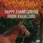 Wishing you a very Happy Thanksgiving from all of us at Keeneland! https://t.co/AYTjgfQ2Fn