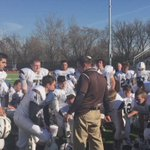 Postgame scene as @CHSRoughRiders coach Phil Dorn talks to his team. #lvvarsity https://t.co/XnLIgyfLjX