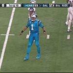 Cam Newton signals first down with a dab https://t.co/NBQc9AIOLa