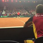 Game, set & match @David__Goffin #DavisCupFinal https://t.co/raRSGGBZyG