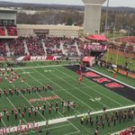 #WKU takes the field. Tops players up front put some kind of flag on the logo and stomped it https://t.co/WEOK60bcz6