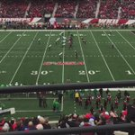 Great crowd on hand at the Houch for #WKU-Marshall. Very few empties as the rain begins to fall. #GoTops https://t.co/Bg1D2XccQM