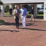 Video: Prince Harry arrives for the @Sentebale polo #cape town https://t.co/jdmxX3Y7Km