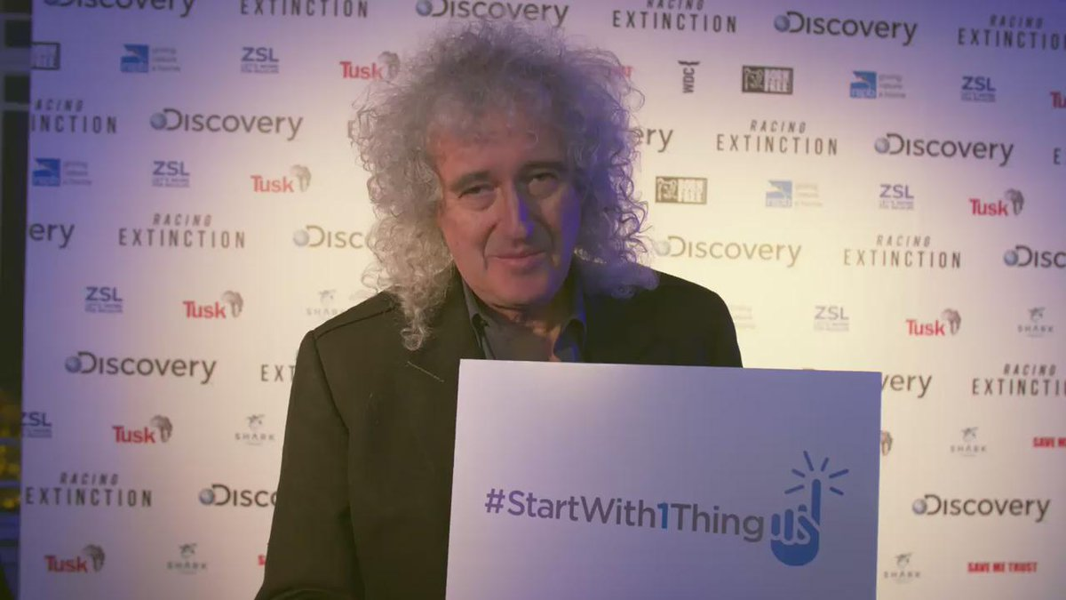 Listen up! @DrBrianMay has a message for you. And when the @QueenWillRock legend talks, you listen! #StartWith1Thing https://t.co/UBbPvuHkTK