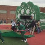 .@NWBearcatsFB takes the field! https://t.co/8XImf9iS8h