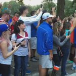 Another great #GatorWalk because of great #Gators like you. #FSUvsUF https://t.co/RPdaRZ4geD