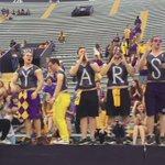 #LSU Les Miles welcomed into Tiger Stadium. @WAFB https://t.co/xvmrJtHCkF