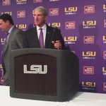 #LSU AD Joe Alleva confirms Les Miles will continue to be the head coach at #LSU. https://t.co/X3Q7nT3BzH