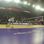 The point that clinched the @pac12 title for @UWVolleyball. #PointHuskies #UWHuskies https://t.co/W7EhOpP1cH