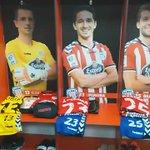 Todo listo no vestiario! #ForzaLugo  #LUGvVLL https://t.co/Sf2a6OBQgF