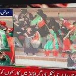 PTIs Julsa participants holding picture of Salman Tasirs murderer Mumtaz Qadri. #KarachiRejectsPTI https://t.co/8a091M0rOt