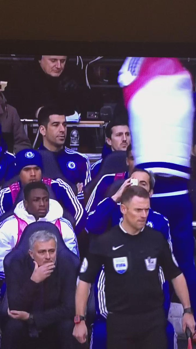 Mikel enjoyed Costa's bib strop almost as much as I did https://t.co/4rPJuguF65