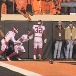 Oh no. It happened again. Kinda starting to become a trend in Stillwater. #Bedlam https://t.co/U4Gy43ep6N