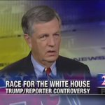 """Vid: @BritHume: @realDonaldTrump backers """"prove Lincoln right, 'you can fool some of the people all of the time'"""" https://t.co/qPbAtSpwfq"""