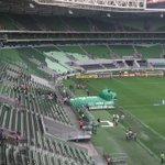 Acabou a chuva aqui no Allianz Parque, e a torcida do Verdão começa a chegar pra acompanhar Palmeiras x Coritiba ⚽️ https://t.co/eMGxNJytio