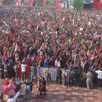 RT @MediaCellPPP Jiyalas full charged to welcome @BBhuttoZardari at #Malir Jalsa. #PPPFoundationDay https://t.co/VXmPMfNIBJ