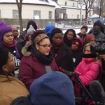 Protesters demanding for the tapes to be released #JamarClark #4thPrecinctShutDown https://t.co/VCCUZqUG0r